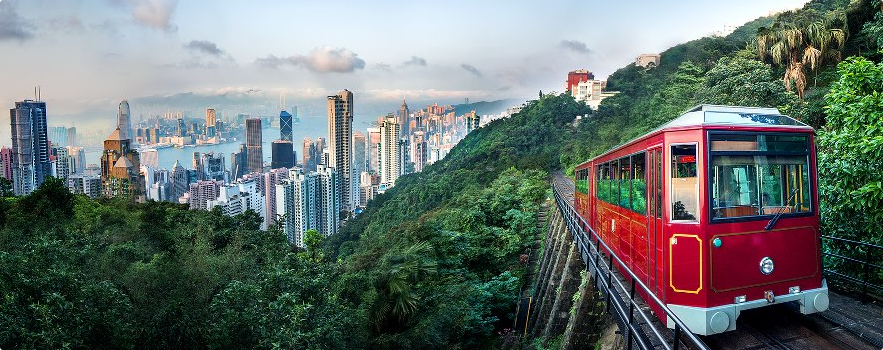 The Venerable Peak Tram Is As Most Pengers Agree Only Way To Truly Experience Beauty Of Hong Kong S Natural Wonders Tens Millions People